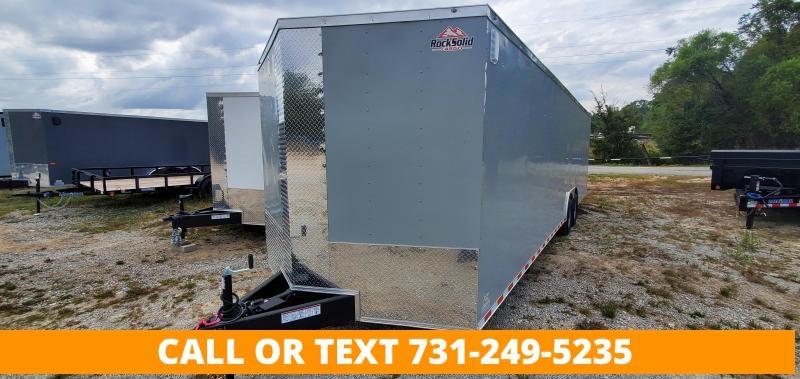 2022 Rock Solid Cargo 8.5' x 28' Tandem Axle Enclosed Cargo Trailer