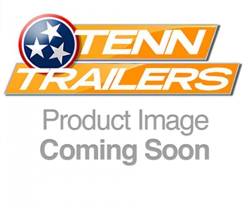 "2021 L&O Manufacturing 6'4"" x 14' Single Axle Utility Trailer"