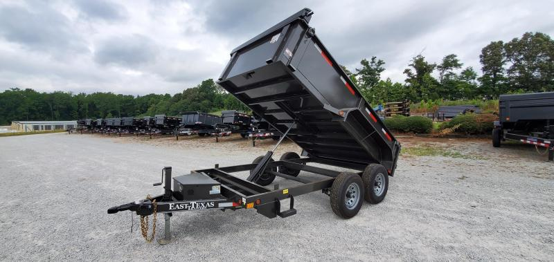 """2021 East Texas 77""""x12' Dump Trailer With 2-6K Axles and 24"""" SIdes"""