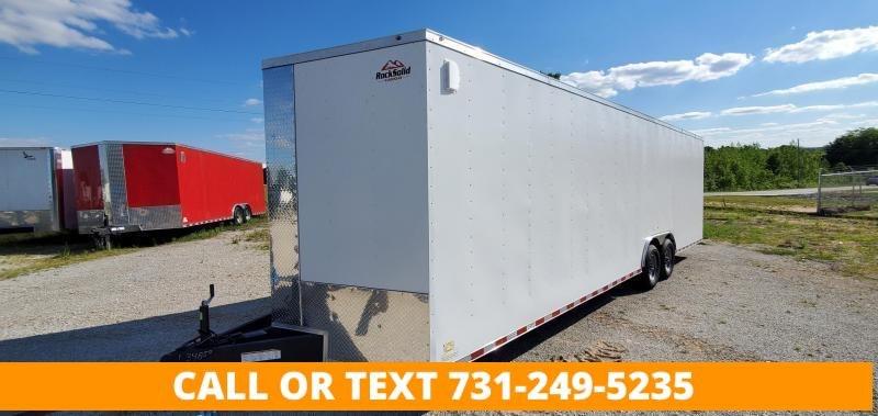 """2022 Rock Solid Cargo 8.5"""" x 28' Enclosed Cargo Trailer"""