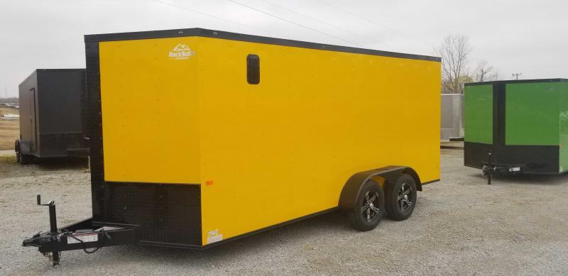 2021 Rock Solid Cargo 7' x x16' Enclosed Cargo Trailer