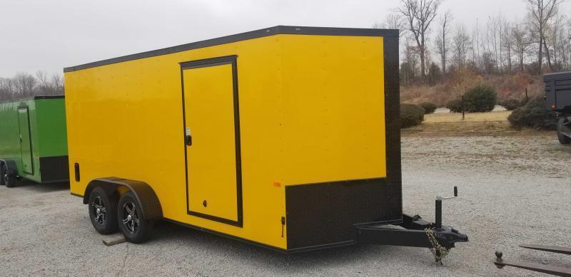 2021 Rock Solid Cargo 7' x x16' Enclosed Cargo Trailer