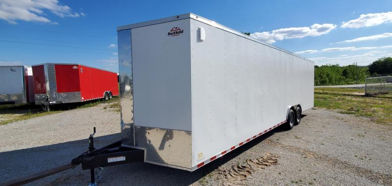 2021 Rock Solid Cargo 8.5' X 28' Enclosed Cargo Trailer