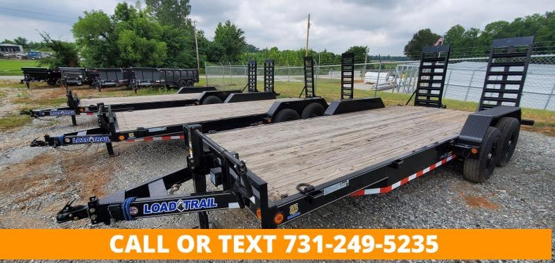 """2022 Load Trail 83""""x20' Tandem Axle Equipment Trailer with 24"""" wide ramps"""