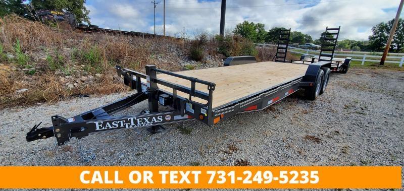 "2021 East Texas 83"" x 22' Equipment Trailer"