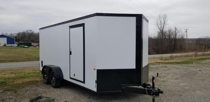 2021 Rock Solid Cargo 7' x 16' Enclosed Cargo Trailer