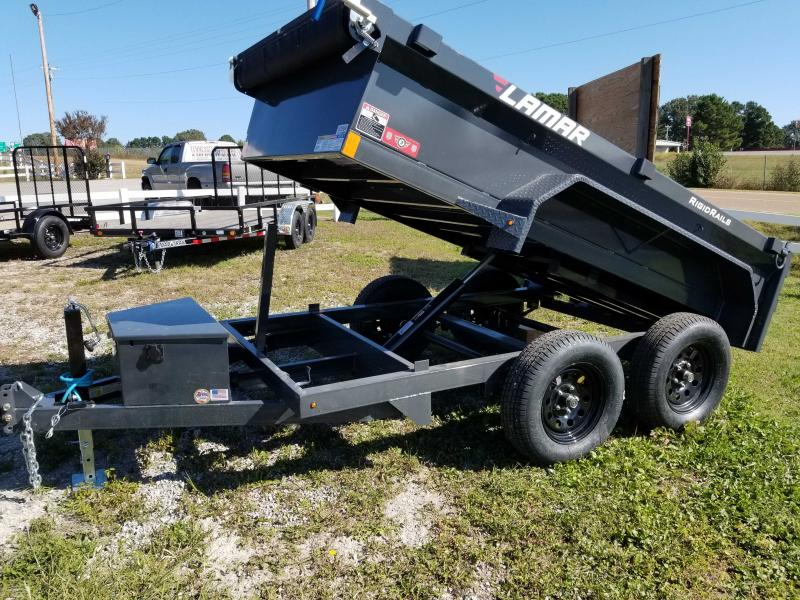 "2021 Lamar 60"" X 10' Mini Dump 7k (2 Axle)"