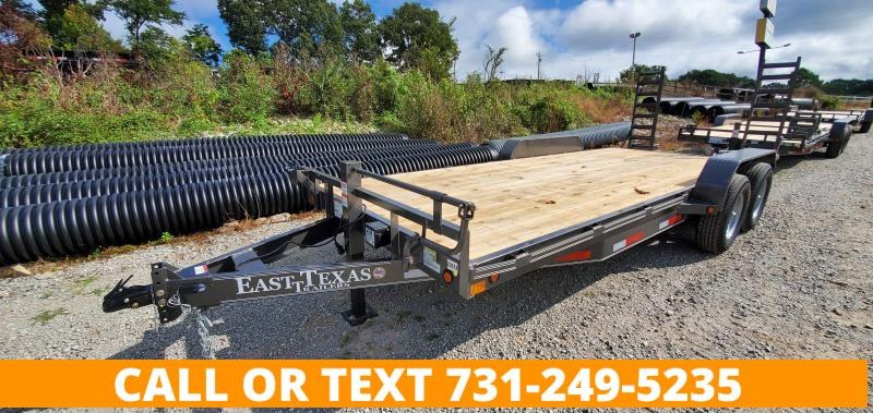 "2021 East Texas 83"" x 20' Equipment Trailer"