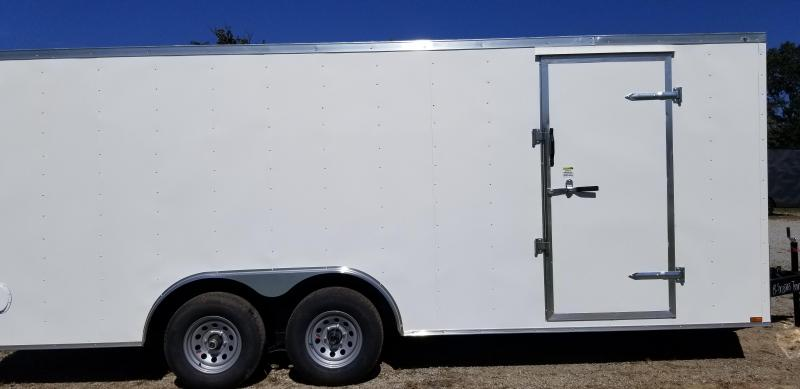 2020 Quality Cargo 8.5 x 20 Enclosed Cargo Trailer 5200lb Axles