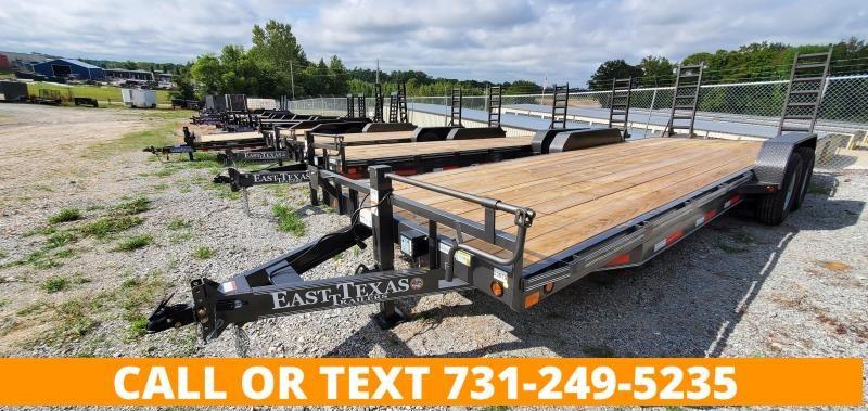 "2021 East Texas 83"" x 24' Equipment Trailer"
