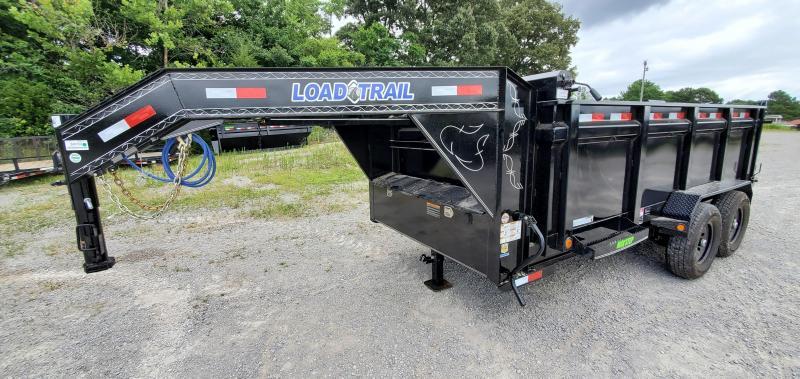"2021 Load Trail 83"" x 14' Gooseneck Dump Trailer with 36"" sides"