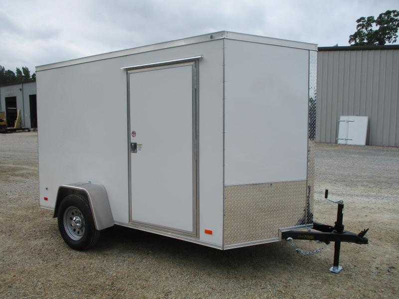 2021 Covered Wagon Gold Series 6x12 Tandem Axle Cargo Trailer with Ramp Door