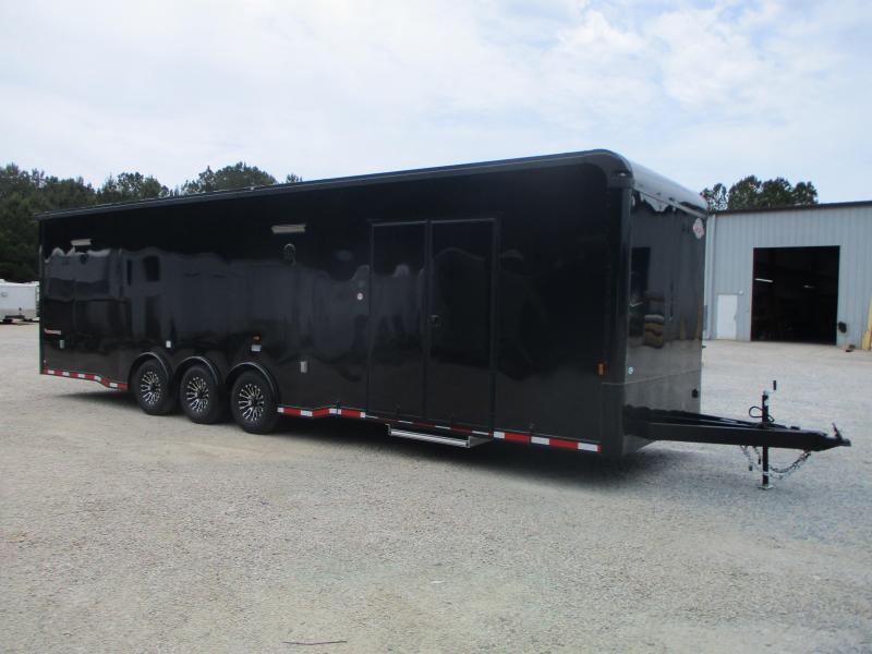 BLACKOUT 2022 Cargomate 32' Eliminator SS Race Trailer Loaded