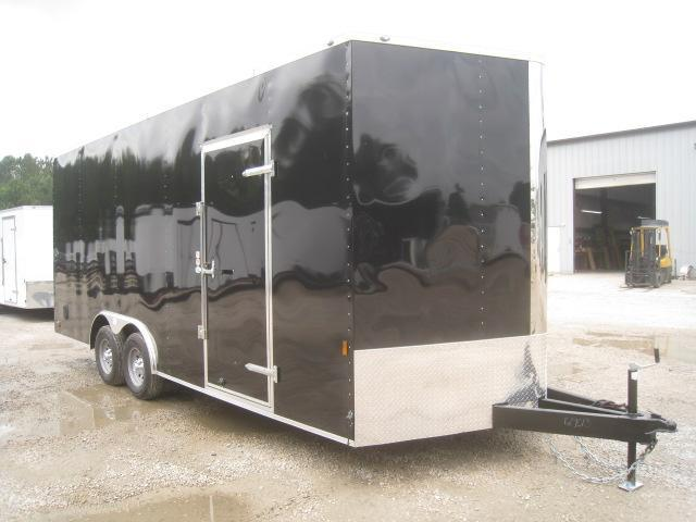 "2021 Continental Cargo Sunshine 20' Vnose Racing Trailer with 12"" Extra Height"