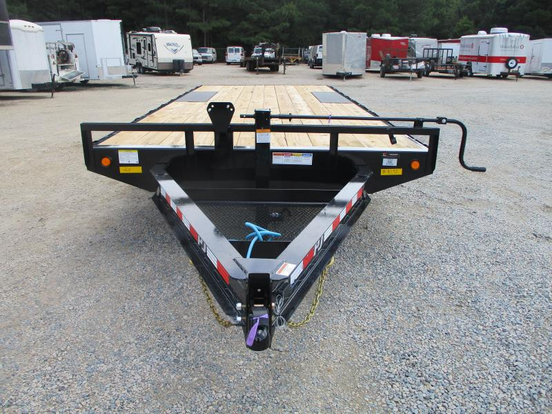 """2022 PJ Trailers 102"""" x 20' 8"""" I-Beam Deckover (F8) Equipment Trailer"""