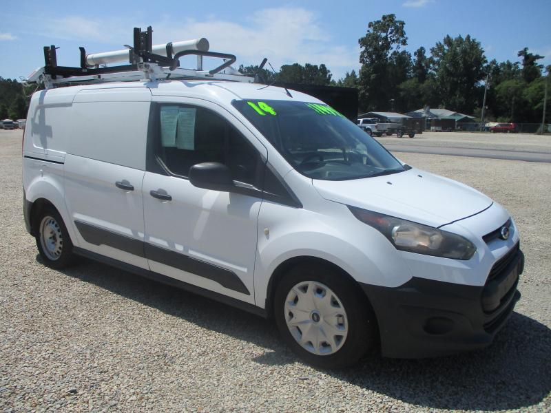 2014 Ford Transit Connect Service Van with Shelving and Ladder Rack