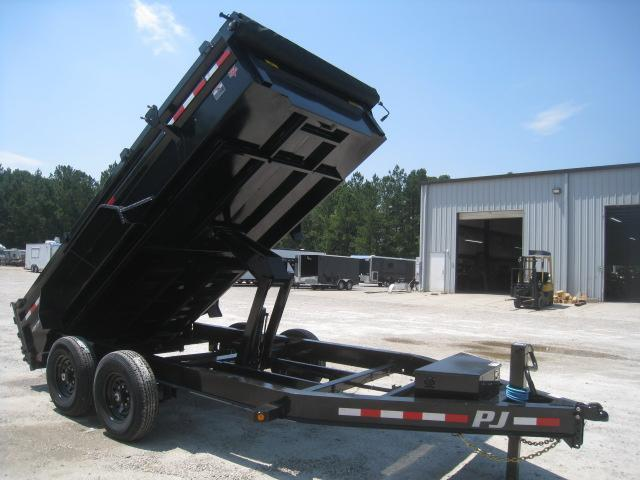 SPECIAL BUY 2021 PJ Trailers DL 14 x 83 Dump Trailer with Tarp