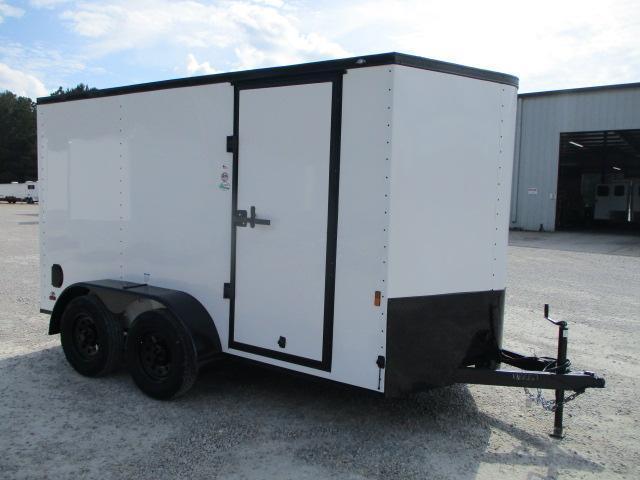 2022 Continental Cargo Sunshine 6x12 Vnose Tandem Axle Enclosed Cargo Trailer