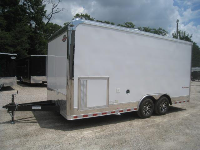 2021 Cargo Mate Eliminator SS Loaded 8.5x18 Race Trailer with Generator