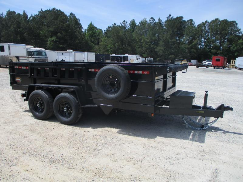 2021 Covered Wagon Prospector 7 x 14 Dump Trailer with 7k Axles and Tarp $10895