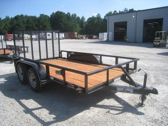 2020 Texas Bragg Trailers 12p Heavy Duty Tandem Axle Utility Trailer
