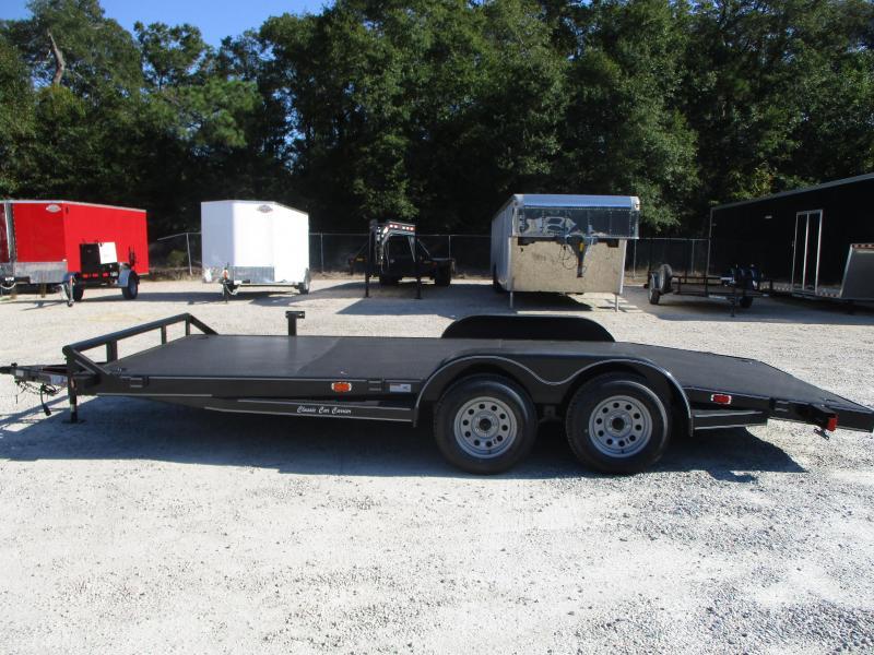 2020 Texas Bragg Trailers 18' Full Metal Deck Car / Racing Trailer