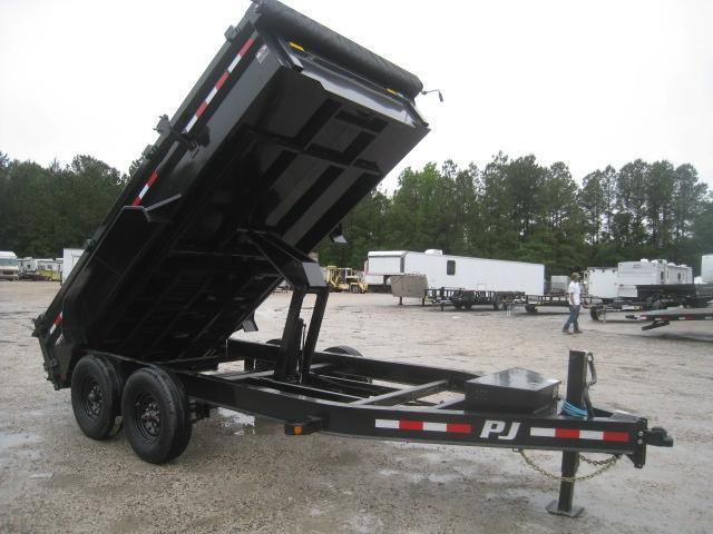 2020 PJ Trailers DL 14 x 83 Dump Trailer with 8k Axles