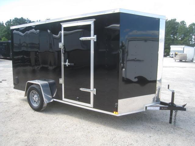 PRICE BUSTER 2020 Lark 6x12 Vnose Enclosed Cargo Trailer with Ramp Door