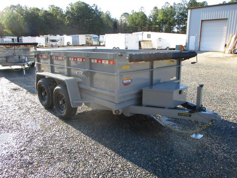 "2021 Covered Wagon Trailers Prospector 6x10 Dump Trailer with 24"" Sides and Tarp"