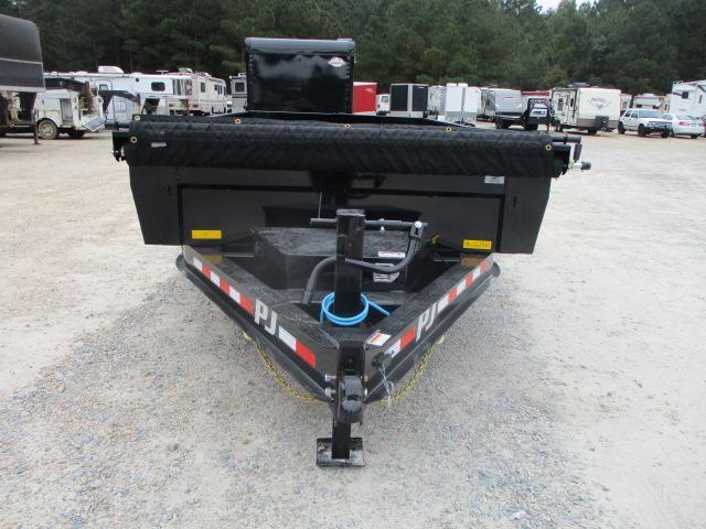 2022 PJ Trailers DL 14x83 Low Pro Dump Trailer