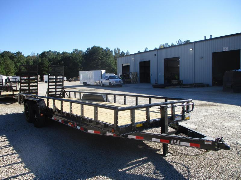 2021 PJ Trailers CC 24' Equipment Trailer with Dexter 7k Axles