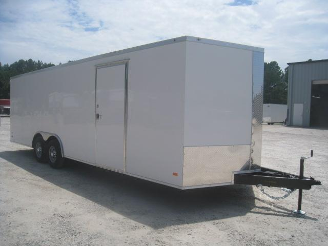 2020 Covered Wagon Trailers Gold Mine Series 24' Vnose Car / Racing Trailer with .030 Metal