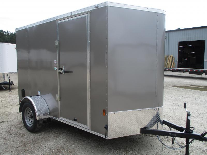 2021 Continental Cargo Sunshine 6x10 Vnose Enclosed Cargo Trailer