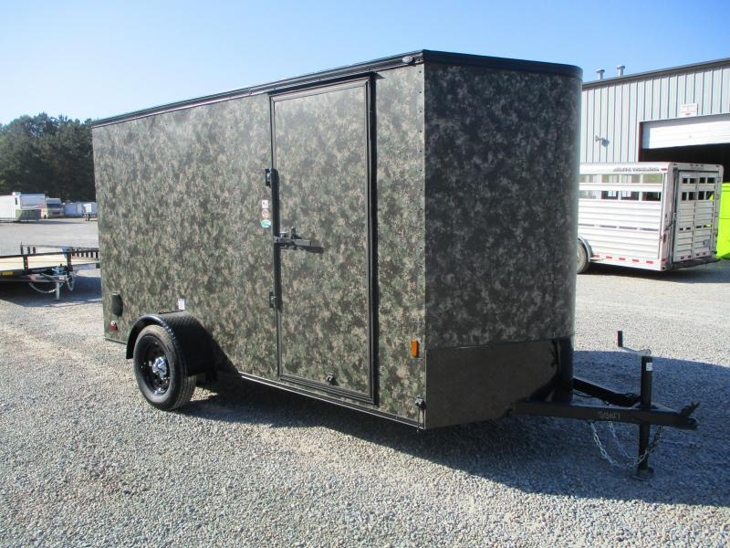 2022 Continental Cargo Sunshine 6x12 Vnose Enclosed Cargo Trailer  in Camoflauge