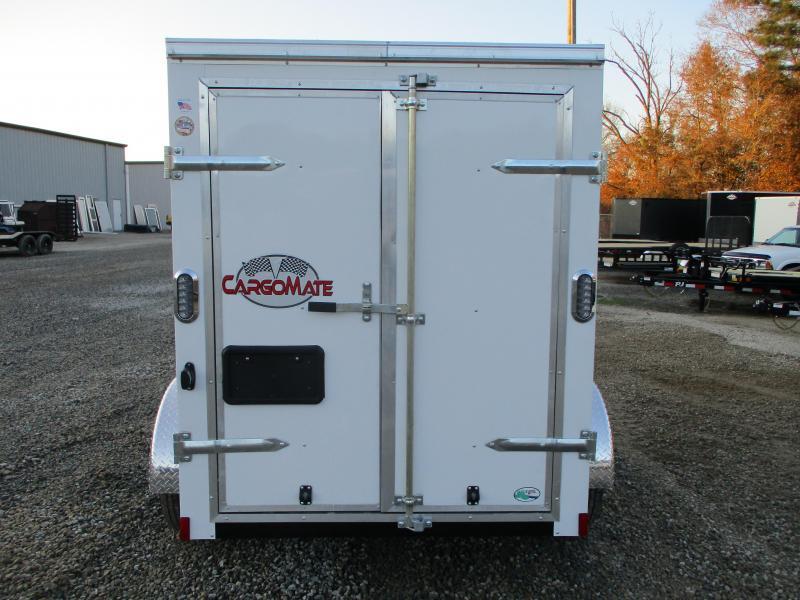 2021 Continental Cargo Sunshine 5x8 Vnose Cargo Trailer Double Rear Doors