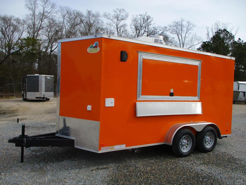 2021 Covered Wagon Trailers Gold Series 7x14 Vending / Concession Trailer