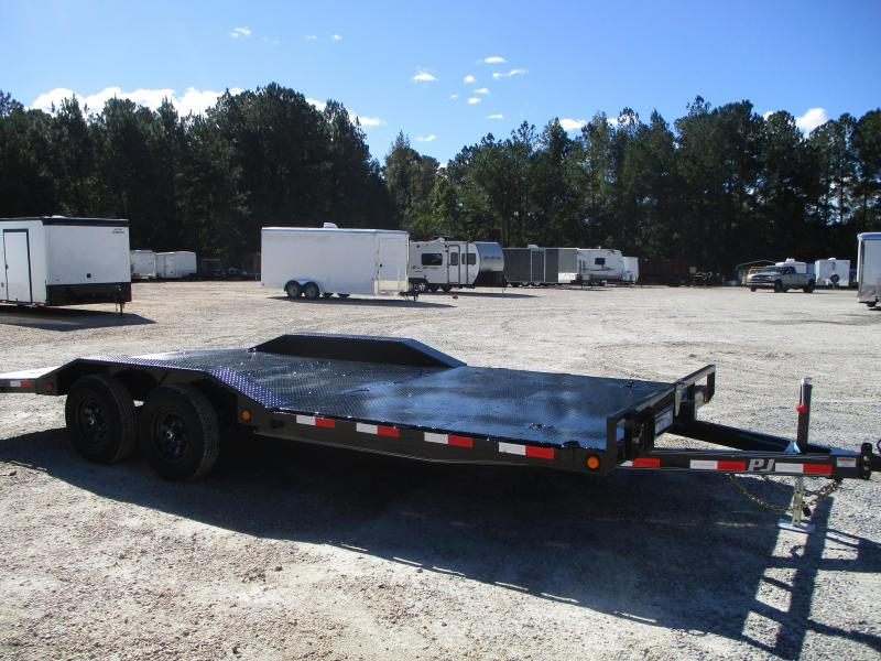 2021 PJ Trailers B5 20' Buggy Hauler with Drive Over Fenders