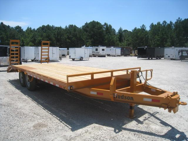 2020 Hudson Brothers HTMBH 6 Ton 21' Deckover Equipment Trailer