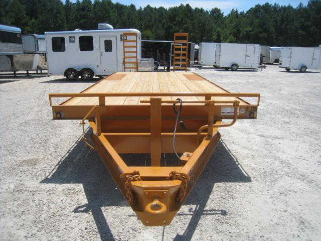 2020 Hudson Brothers HTMBH 6 Ton 21' Deckover Equipment Trailer