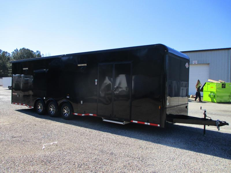 2022 Cargo Mate Eliminator SS 32' Car / Racing Trailer with Blackout Package
