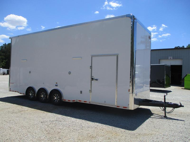 2022 Cargomate Eliminator SS 28' Stacker Race Trailer Loaded