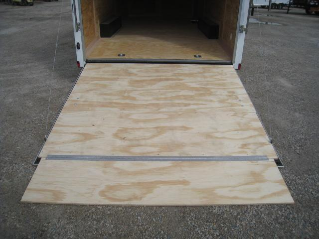 2021 Continental Cargo Sunshine 8.5x20 Vnose Race Trailer with 5200lb Axles