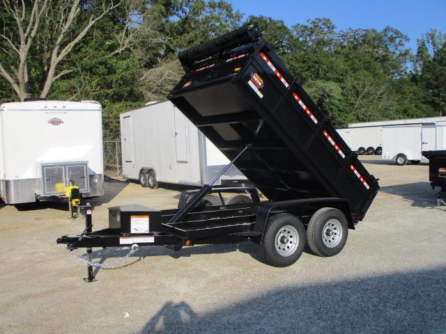 2022 Covered Wagon Trailers Prospector 6x10 Dump Trailer