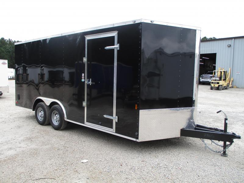 2021 Continental Cargo Sunshine 8.5x18 Vnose Car / Racing Trailer with 5200lb Axles