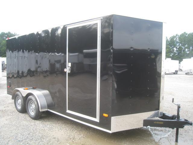 PRICE BUSTER 2021 Covered Wagon Trailers Silver Series 7X16 Vnose Enclosed Cargo Trailer