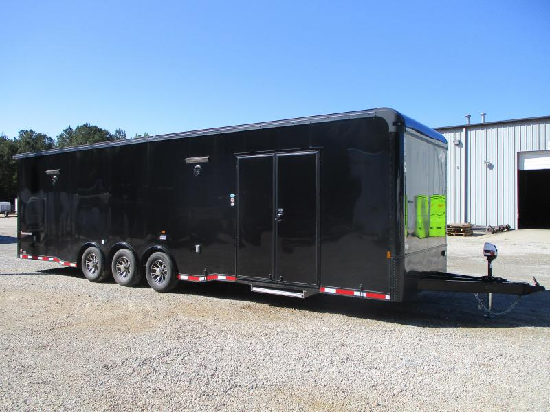2022 Cargomate Eliminator SS 32' Race Trailer with Blackout Package