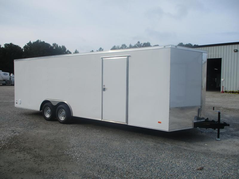 2022 Covered Wagon Gold Series 8.5x24 Race Auto Trailer with 5200lb Axles