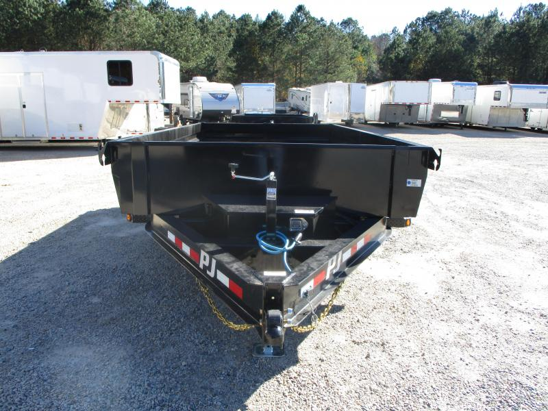 2021 PJ Trailers DG 83 x 14 Low Pro Dump Trailer