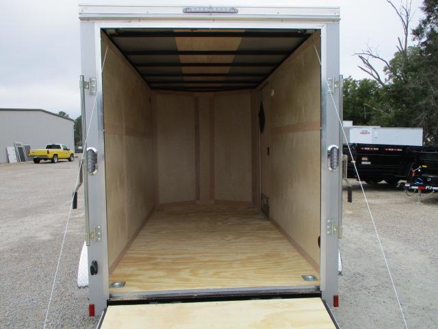 2022 Continental Cargo Sunshine 6x12 Tandem Axle Vnose Enclosed Cargo Trailer