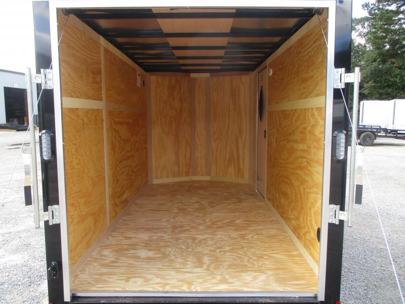 TWO TONE 2021 Continental Cargo Sunshine 6x12 Vnose Enclosed Cargo Trailer with Ramp Door
